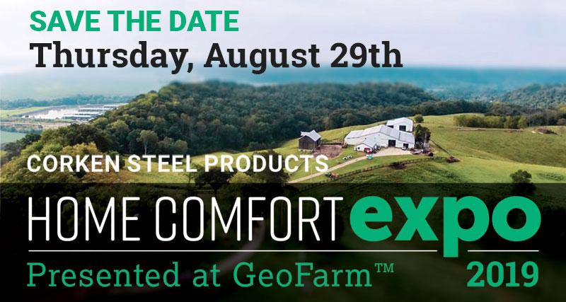 Home Comfort Expo 2019 Corken Steel Products