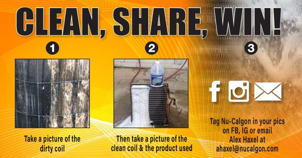 Nu Calgon Clean Share Win Contest Corken Steel Products