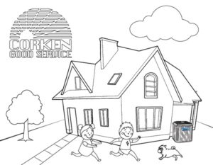 Corken Coloring Pages for Bored Kiddos!