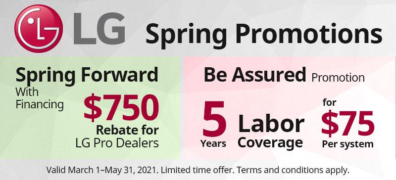 LG Spring Promos