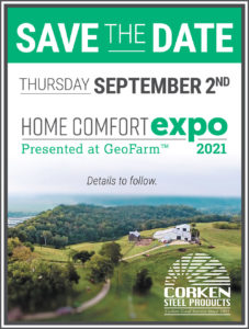 Save the Date: Home Comfort Expo returns 9/2/21!