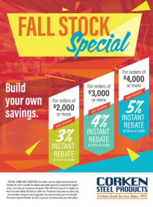 Fall Stock Special 2021